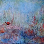 Nr.10 Garten - Impression, 50x60 cm, Acryl auf Leinwand, 2014