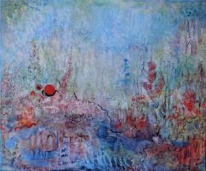 Nr.10-Garten-Impression-50x60-cm-Acryl-auf-Leinwand-2014