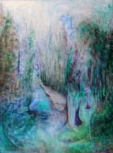 Nr.11-Garten-Der-Weg-80x60-cm-Acryl-auf-Leinwand-2014