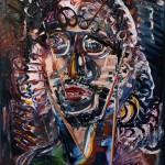 Nr.18 Genie und Wahnsinn, 80x60 cm, Öl auf Leinwand, 2014