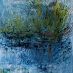 Nr.2 Am Wasser 1, 50x40 cm, Öl auf Leinwand, 2014
