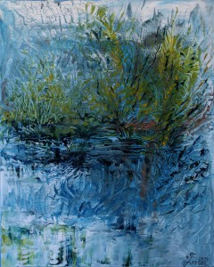 Nr.2-Am-Wasser-1-50x40-cm-Öl-auf-Leinwand-2014