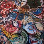 Nr.22 Chaos danach, 100x80 cm, Öl auf Leinwand, 2014