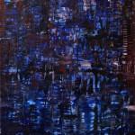 Nr.23 Abstrakt 3, 80x60 cm, Acryl auf Leinwand, 2014