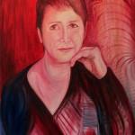 Nr.29 Portrait Kathrin, 80x60 cm, Öl auf Leinwand, 2015