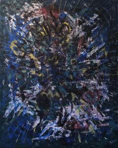 Nr.33-Abstrakte-Welt-100x80-cm-Acryl-auf-Leinwand-2015