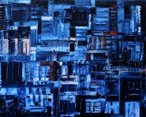 Nr.34-Blues-3-80x100-cm-Öl-auf-Leinwand-2015