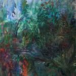 Nr.4 Garten - Im Beet, 80x60 cm, Acryl u. Öl auf Leinwand, 2014