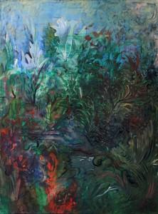 Nr.4-Garten-Im-Beet-80x60-cm-Acryl-u.-Öl-auf-Leinwand-2014