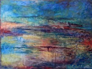Nr.6-Garten-Abstraktion-60x80-cm-Acryl-auf-Leinwand-2014