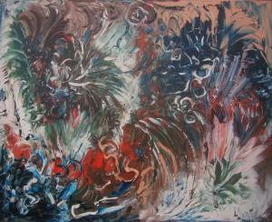 Nr.2-Florales-80x100-cm-Öl-auf-Leinwand-2015