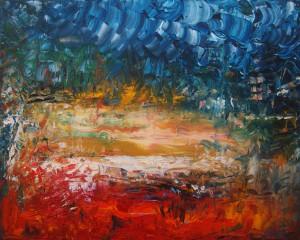 Nr.21-Fantastische-Landschaft-Dramatik-40x50-cm-Öl-auf-Leinwand-2016