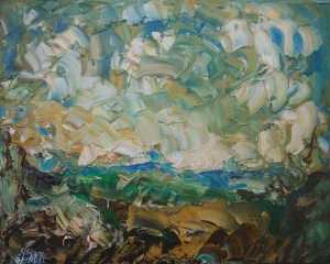 Nr.25-Fantastische-Landschaft-Acker-40x50-cm-Öl-auf-Leinwand-2016